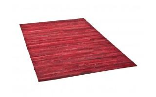 Dywan skóra 160x230 LM-169 Red