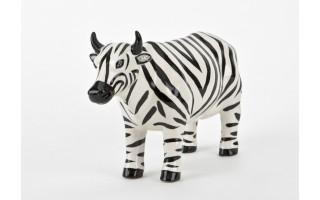 Ozdoba ceramiczna Krowa Zebra