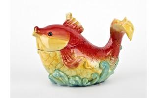 Pojemnik ceramiczny Ryba czerwona