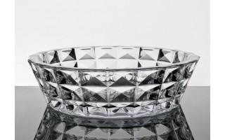 Salaterka kryształowa 32cm  Diamond Bohemia