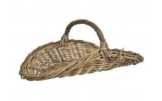 Koszyk na drewno do kominka 27cm