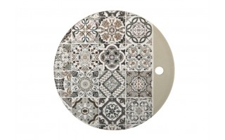 Deska porcelanowa 22cm Casadecor Grey