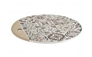 Deska porcelanowa 26cm Casadecor Grey