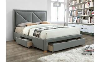 Łóżko tapicerowane Mario (ekoskóra)