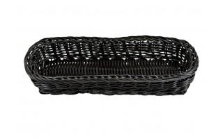 Koszyk polipropylen 27cm czarny