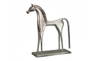 Ozdoba Rzeźba aluminiowa Koń 56cm PROMO