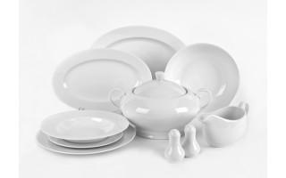 Serwis obiadowy 12/43 Witek's White