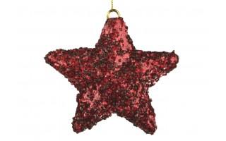 Bombka gwiazda 12cm