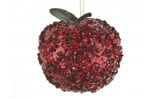 Bombka jabłko 9cm
