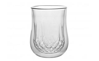 2x szklanka z podwójną ścianką 300ml Diamante