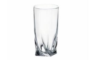 Szklanka kryształowa Quadro Long Bohemia 350ml