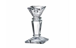 Świecznik kryształowy 20 cm Empery Bohemia