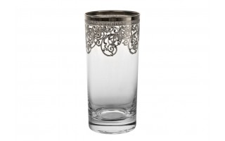 6x szklanka do piwa 380ml Old Silver
