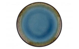 Talerz płytki 25,4cm Lazur