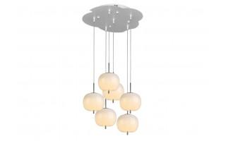Lampa wisząca Jabłko MD5069-6CR srebrna