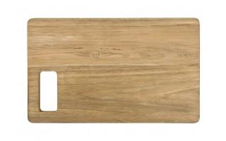 Deska do krojenia drewno tekowe 40cm