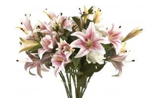Lilia kwiat sztuczny 86cm