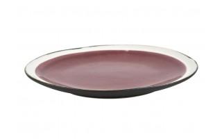 Talerz płytki 21cm Origin raspberry