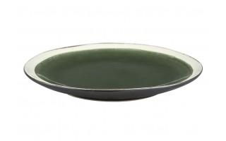 Talerz płytki 21cm Origin green