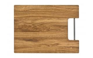Deska do krojenia dębowa 44,5 x 33cm