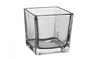 Wazon szklany 10x10cm Kwadrat