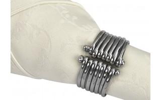 Obrączka na serwetę Bransoleta silver