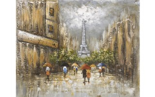 Obraz na płótnie 80x100cm Paryż 1