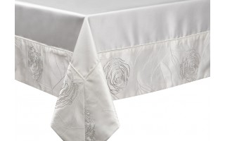 Obrus 150x210cm Silver Rosa
