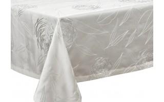 Obrus 140x250cm Silver Rosa bez plisy