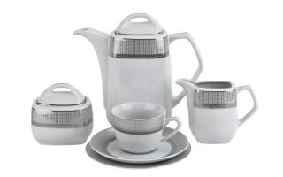 Serwis do kawy 12/27 Amaro Silver