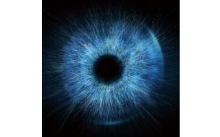 Obraz szklany 80x80 Eye