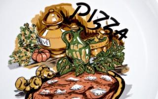 Talerz do pizzy 32cm Tina pizza