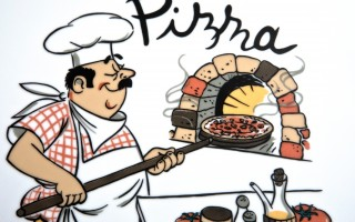 Talerz do pizzy 35 cm Tina kucharz