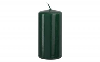Świeca klubowa ciemna zieleń śr. 5,8cm