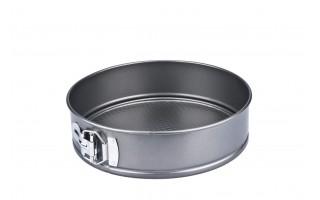 Tortownica nieprzywieralna 24cm Silver