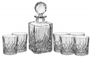 Komplet Karafka + szklanki Bohemia Whisky