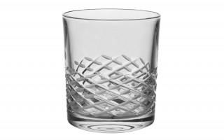 Szklanka Bohemia Whisky Half Clear 9,5 cm.
