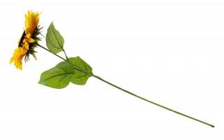 Słonecznik kwiat sztuczny 80cm