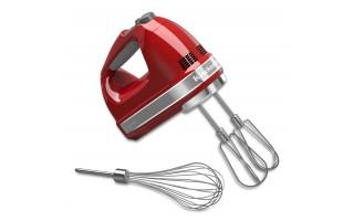 Mikser ręczny KitchenAid czerwony 85W