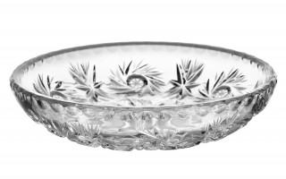 Talerz kryształowy płytki 15cm Zawiercie