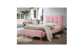 Łóżko Tiffany rózowe