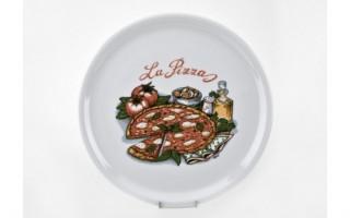 Talerz do pizzy 33 cm Tina pizza oliwa