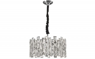 Lampa wisząca kryształowa Jewel Chrome 60215/6