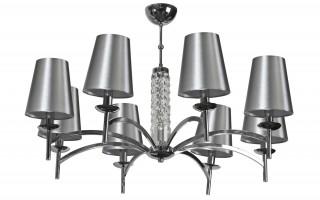 Lampa wisząca kryształowa Silver Glam 5054/8