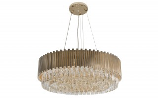 Lampa wisząca kryształowa Gold Stic 60181/22