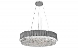 Lampa wisząca kryształowa Stic Chrome 60181/32