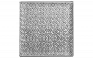 Talerz płytki kwadratowy 20,5cm Marrakesz szary